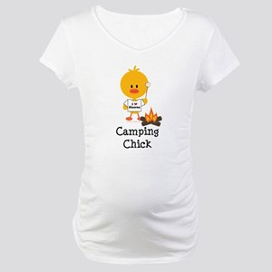 Camping Chick Maternity T-Shirt