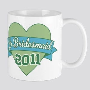 Heart Junior Bridesmaid 2011 Mug