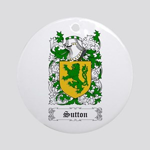 Sutton Ornament (Round)