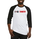 F*Cancer T'shirt Baseball Jersey