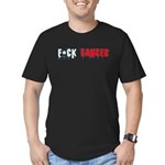 F*Cancer T'shirt Men's Fitted T-Shirt (dark)