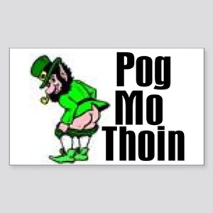 Pog Mo Thoin Rectangle Sticker