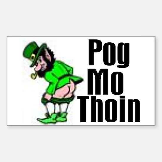 Pog Mo Thoin Rectangle Decal