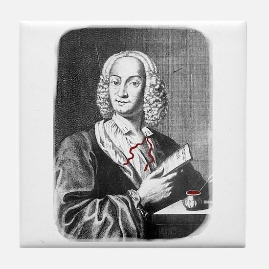 Vivaldi Engraving Tile Coaster
