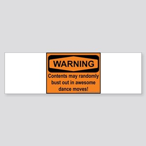 Warning Sticker (Bumper)