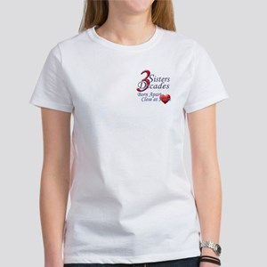 3 Sisters, 3 Decades Women's T-Shirt