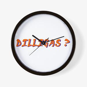 dilligas Wall Clock
