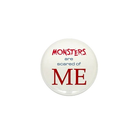 Monsters (light) Mini Button