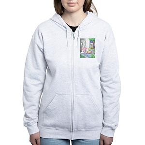 f064fd97c Moon Mermaid Women's Hoodies & Sweatshirts - CafePress