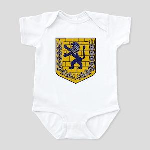 Lion of Judah Gold Infant Bodysuit
