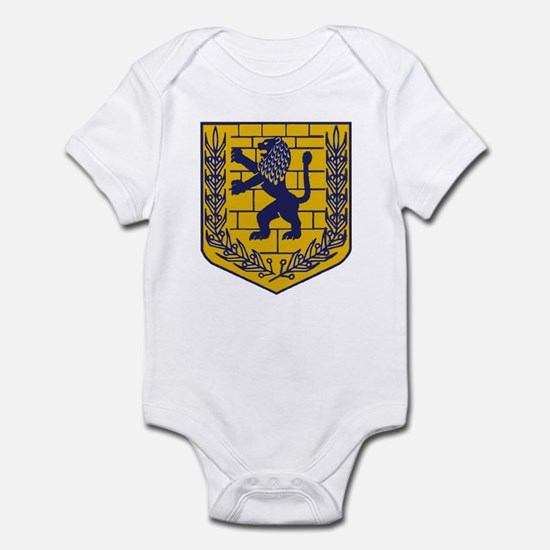 Lion of Judah Gold Infant Bodysuit