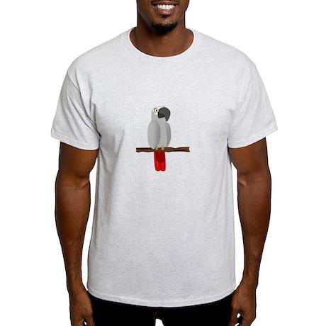 African Grey Light T-Shirt