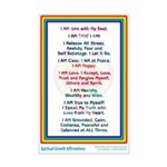 Spiritual Growth Affirmations Print
