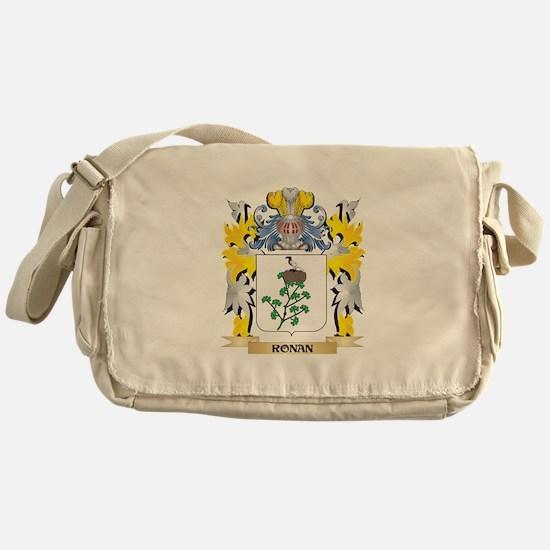 Ronan Family Crest - Coat of Arms Messenger Bag