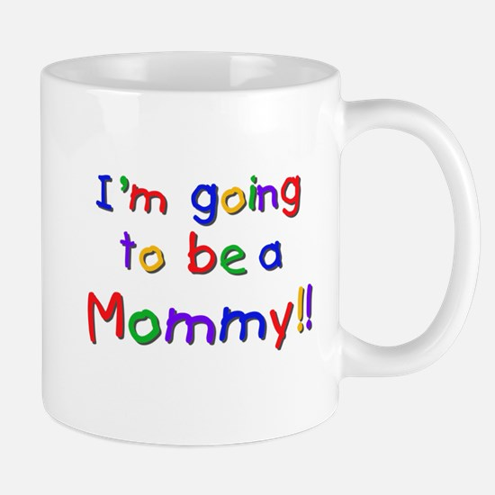 Primary Colors Future Mommy Mug