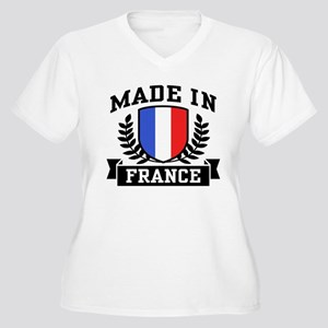 Made In France Women's Plus Size V-Neck T-Shirt