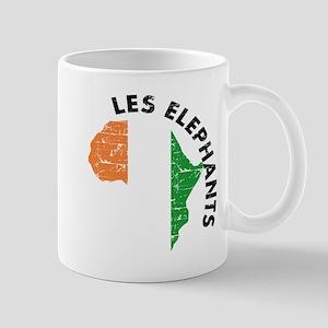 Les Elephants of Cote D' Ivoire Mug