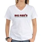 Big Red's BBQ Smokers Women's V-Neck T-Shirt
