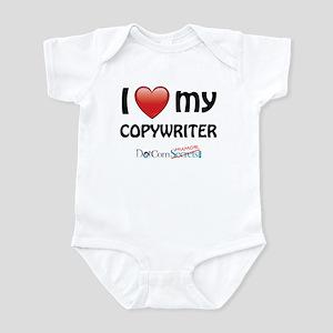 I Love My Copywriter Infant Bodysuit