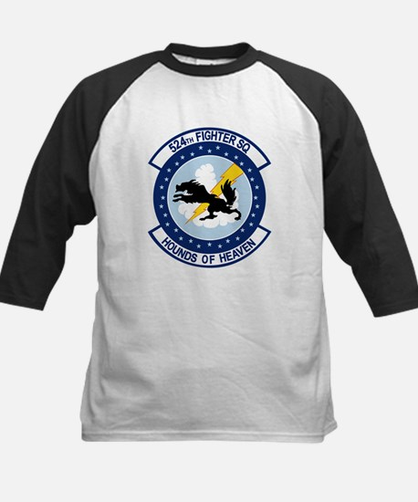 524th Fighter Squadron Kids Baseball Jersey
