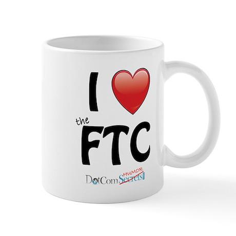 I Love The FTC Mug