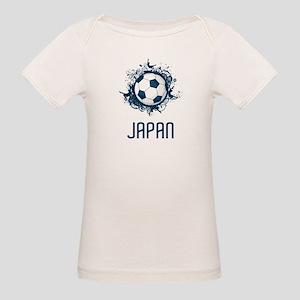 Japan Football Organic Baby T-Shirt