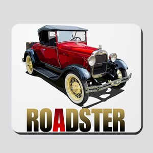 The Red A Roadster Mousepad