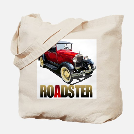 The Red A Roadster Tote Bag