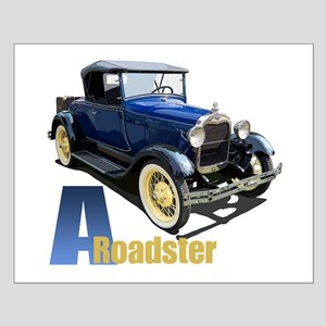 A Blue Roadster Small Poster