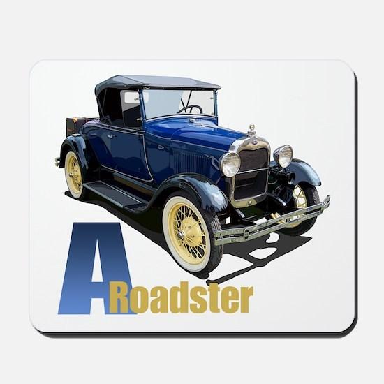 A Blue Roadster Mousepad