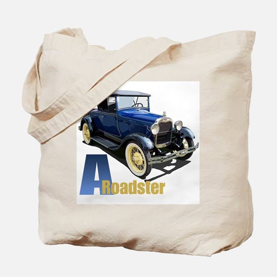 A Blue Roadster Tote Bag