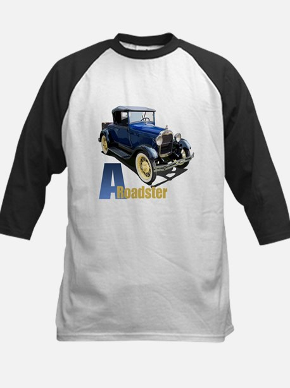 A Blue Roadster Kids Baseball Jersey