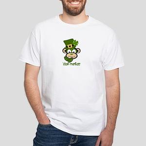 Irish Monkee White T-Shirt