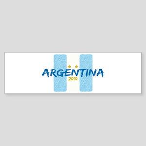 Argentina Futbol 2010 Sticker (Bumper)
