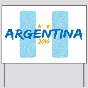 Argentina Futbol 2010 Yard Sign