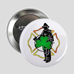 "Irish Fire Symbols 2.25"" Button"