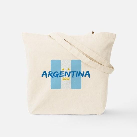 Italia Futbol 2010 Tote Bag