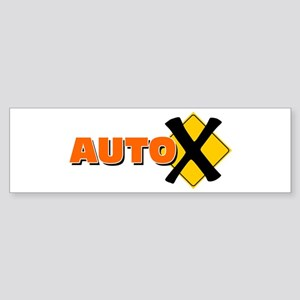 Auto X Bumper Sticker