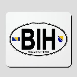 Bosnia-Herzegovina Mousepad