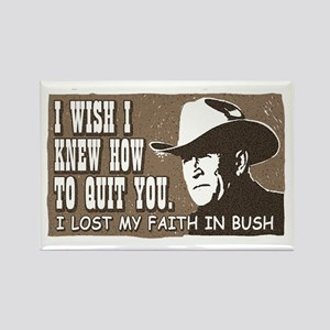 Brokeback Mountain Anti-Bush Rectangle Magnet