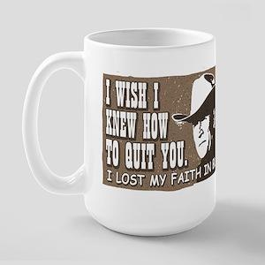 Brokeback Mountain Anti-Bush Large Mug