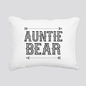Auntie Bear Rectangular Canvas Pillow