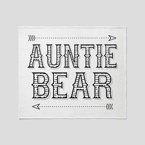 Auntie Bear Throw Blanket