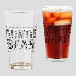 Auntie Bear Drinking Glass