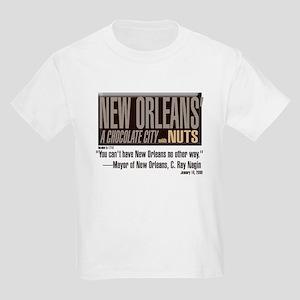 NOLA: A Chocolate City Kids T-Shirt