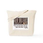 A Chocolate City Bead Bag for Mardi Gras parades