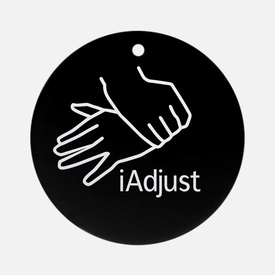 iAdjust - Chiro Hands Ornament (Round)