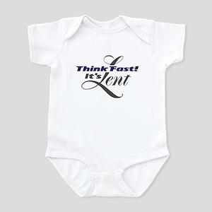 Think_Fast Infant Bodysuit