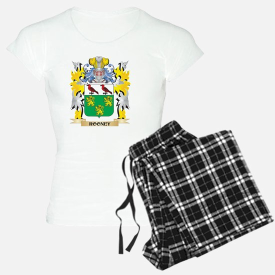 Rooney Family Crest - Coat of Arms Pajamas