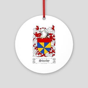 Sturdy Ornament (Round)